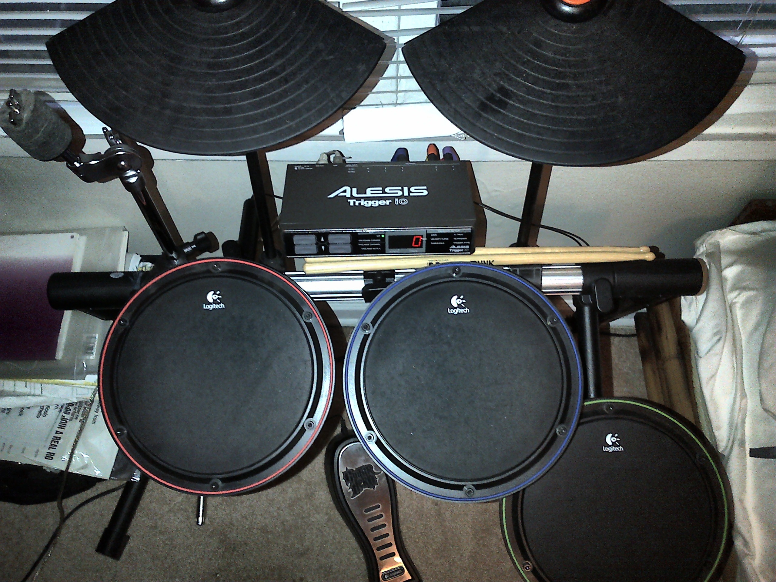 Logitech Drums (Wii/PS3/XBox) with MIDI (finally) | Thoughts