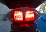LED (left) and 1157 (right) - Brake light mode