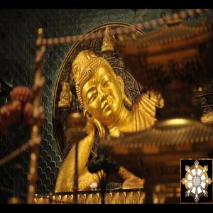 Nirvana Buddha Image w/Shinnyo-en Rinbo