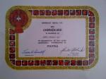 10-year Mensa Certificate