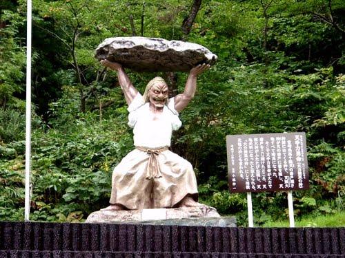 Statue of 天手力男 Ame-no-Tachikara-O