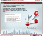 Sample Oracle 12c Database Interactive Quick Reference Pages