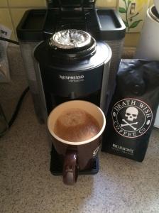 Nespresso Vertuoline Finished Lungo Custom Deathwish