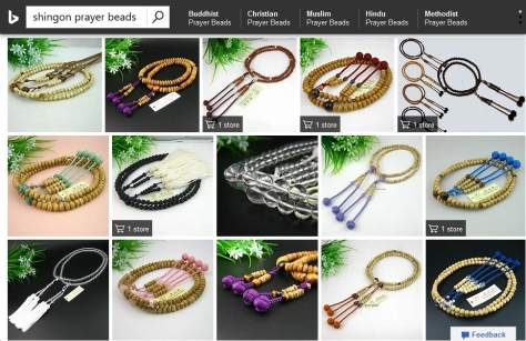 Bing Search - Shingon prayer beads