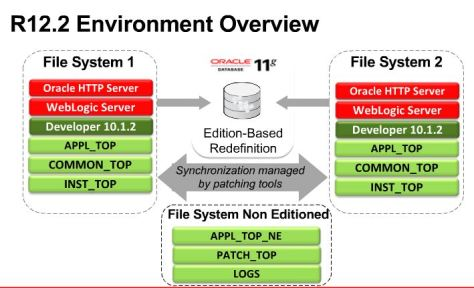 Oracle e-Business Suite R12.2 Overview of Edition-Based Redefinition (EBR) in 11gR2 databases.