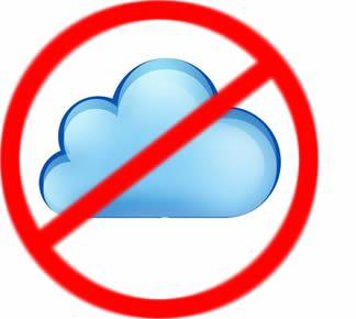 Cloud with No Symbol